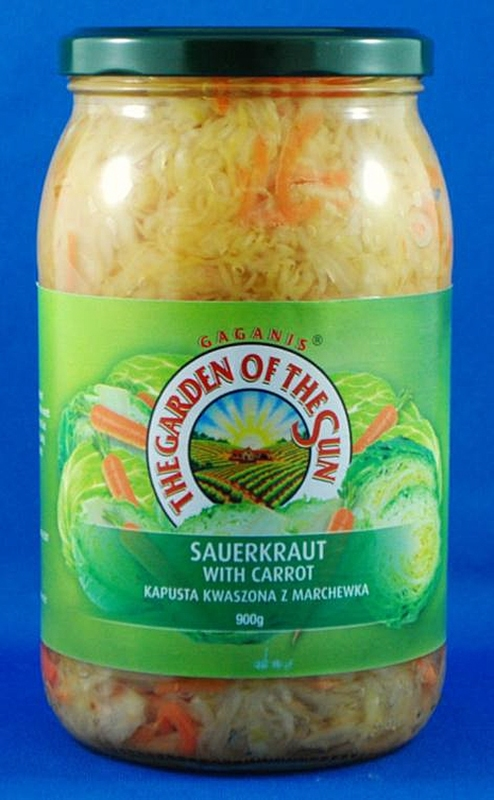 Garden of the Sun Sauerkraut & Carrot 900g