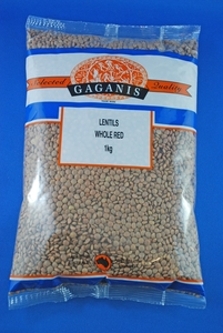 Gaganis Lentils Red Whole Australian 1kg
