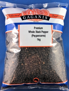 Gaganis Pepper Black Whole 1kg