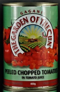 Garden of the Sun Chopped Tomatoes 400g